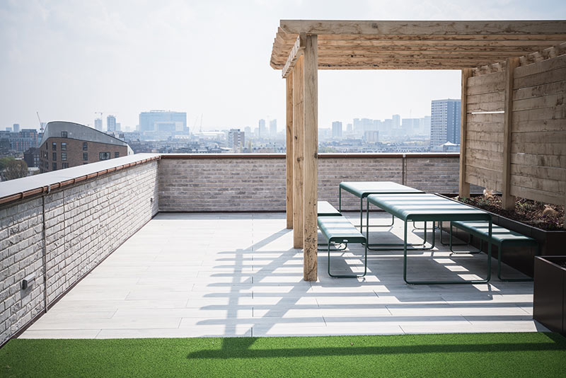Roof Terrace Empress Works - HG Construction Residential