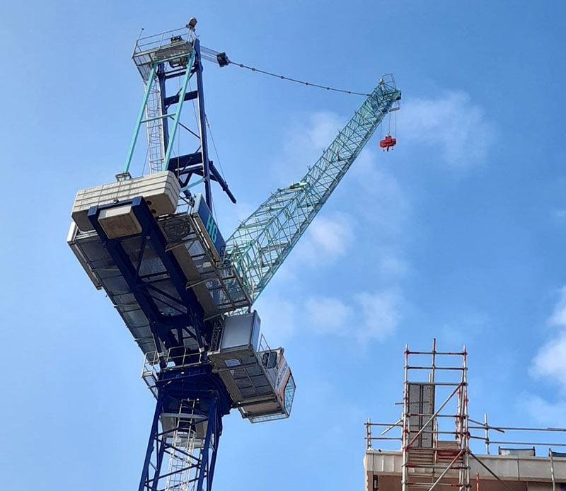 Italian Cranes Moritsch London - HG Construction