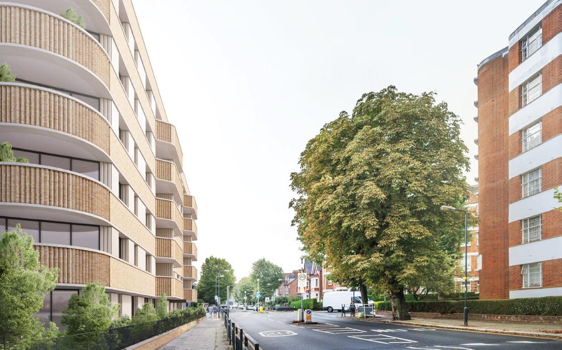Willseden Green St Pauls Mansions HG Construction Residential Development